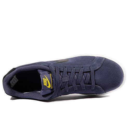 Gimnasia Indigo Hombre Para Zapatillas De Yellow Suede Court Nike nero 500 Blau tour Royale neutral 4cfqWZvFX