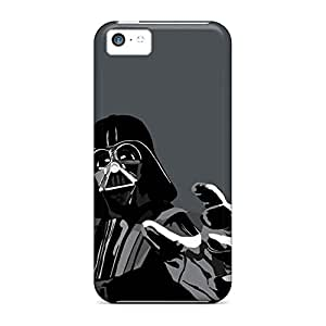 iphone 5c Shockproof mobile phone carrying skins Fashionable Design cover darth vader vector