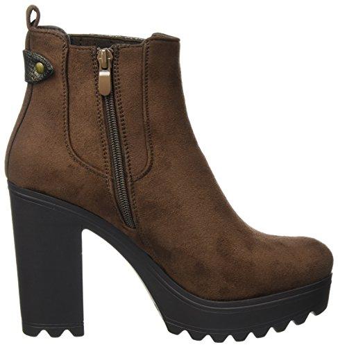 XTI Damen 063821 Chelsea Boots Braun (Brown)