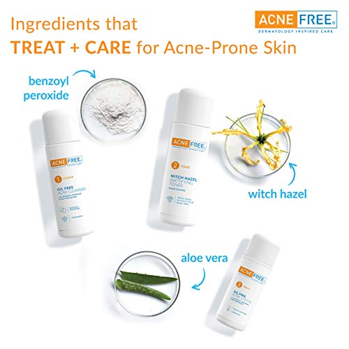 Acne Free 3 Step 24 Hour Acne Treatment Tiendamia Com