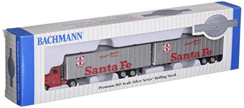 Santa Fe Flat Car (Bachmann Industries Santa Fe 1950's/60's Truck Cab Want Two Piggy Back Trailers (HO Scale Train))