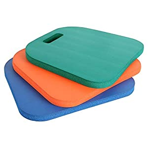 PORTAL 3-Pack Sports Cushion Seat Pad Set for Boat Stadiums Bleachers Chairs Seat from HF