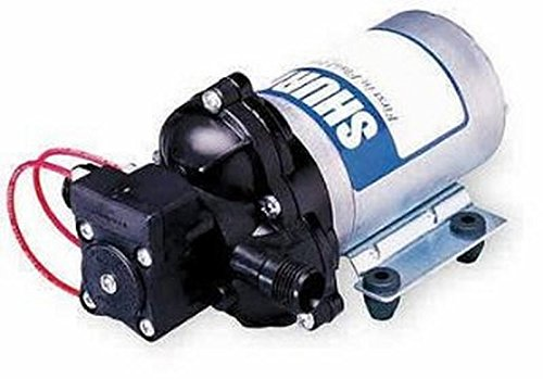 Shurflo 2088-554-144 Fresh Water Pump, 12 Volts, 3.5 Gallons Per Minute, 45 (Shurflo Rv Water Pumps)