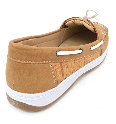 J Beige Sneaker Shoes Camel Boat Camel bebe Oxfords Grey Black Moc Casual Womens Deck Brown Loafers rq6Hxr8