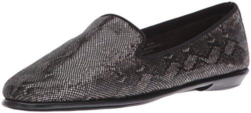 Aerosoles Women's Betunia Loafer Black Snake