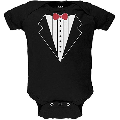 Valentine's Day - Tuxedo Baby One Piece - 9-12 months (Cupid Men Costume)