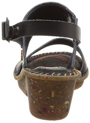 ART VENICE - Sandalias de vestir de cuero para mujer negro - negro