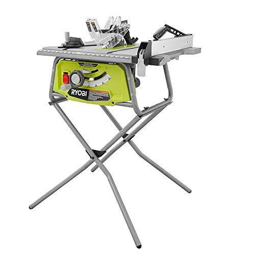 Ryobi 10 in. Table Saw with Folding Stand (Certified Refurbished)