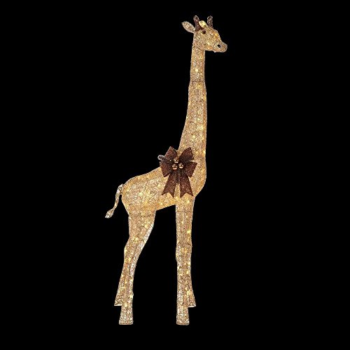 Outdoor Lighted Giraffe - 1