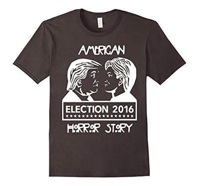 American Hor-ror Donald Trump Hillary Clinton Funny T Shirt