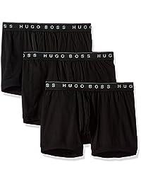 Hugo Boss Calzoncillos Calzones de algodón para Hombre, Paquete de 3