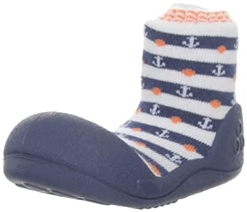 1a371e396bb07 First Walking Shoes with Socks for Baby Boys Girls
