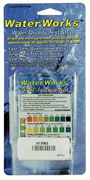 Test Strips, 4 -In-1 City Water Check