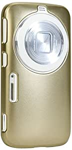 Samsung Galaxy K (S5 Zoom) Case, GMYLE Hard Case Metallic Color for Samsung Galaxy K (S5 Zoom) - Metallic Dark Gold Color Slim Fit Snap On Protective Hard Shell Back Case