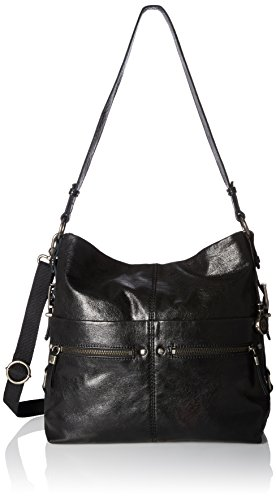 The Sak Sanibel Bucket Shoulder Bag, Black, One Size by The Sak