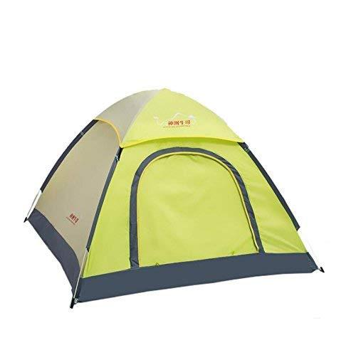 GZZ Guo Outdoor Produkte im Freien 3-4 Single-Layer Polyester Regen Zelte, Hohe Zähigkeit Glasfaser Rod, Durable, Portable Zelte