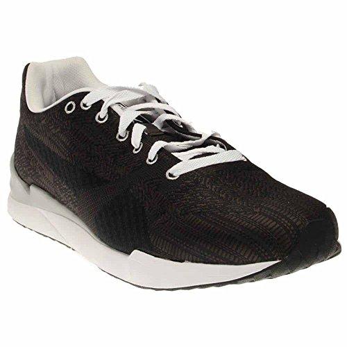 Puma Men's Xs500 Woven Sneaker, Dark Shadow/Black/White, 8.5 M US