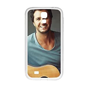 Cool painting Approachable guitar prince Luke Bryan Cell Phone Case for Samsung Galaxy S4