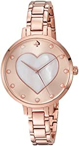 kate spade new york Women's 'Metro' Quartz Stainless Steel Casual Watch, Color:Rose Gold-Toned (Model: KSW1216)