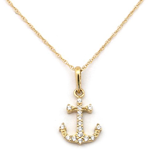 Small Anchor Pendant - 1