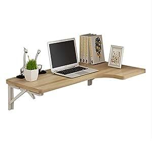 Amazon.com: Mesa de escritorio plegable en esquina de pared ...