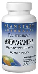 PLANETARY HERBALS, Full Spectrum™ Ashwaganda - 120 tabs