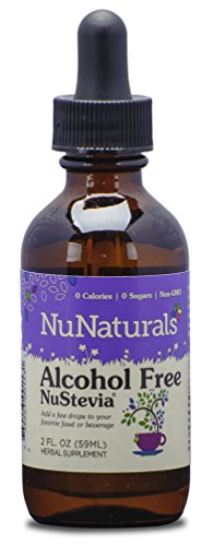 NuNaturals Nustevia Alcohol Free Stevia Liquid - A Natural S
