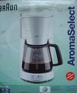 Braun KF 130 31227. filtro cafetera eléctrica: Amazon.es: Hogar