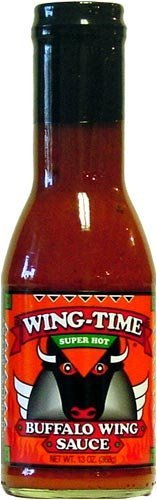 Wing-Time, Super Hot Wing Sauce, 12.75 fl oz by AmericanSpice.com