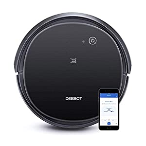 Ecovacs DEEBOT 500 Robot Vacuum Cleaner with Max Power Suction, Up to 110 min Runtime, Hard Floors and Carpets, Pet Hair…