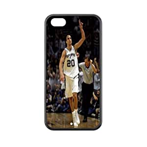 Exclusive Manu Ginobili plastic hard case skin cover for iPhone 5C AB938682