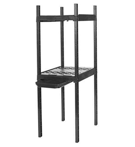 Shelf Locker Organizer (It's Academic Adjustable Double Locker Shelf, Colors May Vary (5001))