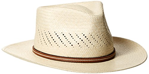 Scala Men's Vent Panama Outback, Natural, X-Large