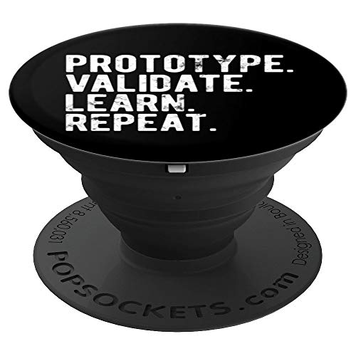 Prototype validate learn repeat UX graphic designer - PopSockets Grip and Stand for Phones and Tablets