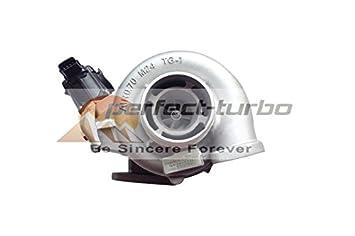 Nuevo cargador Turbo para Hino N04C, S05C EURO4 Motor con actuador eléctrico