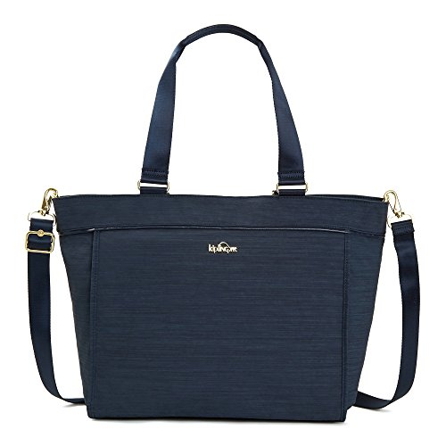New Shopper Tote - Kipling Women's New Shopper Large Tote One Size True Dazz Navy