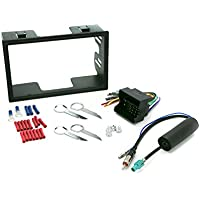 Install Centric ICVW5BN Volkswagen 2002-06 Double Din Complete Installation Kit