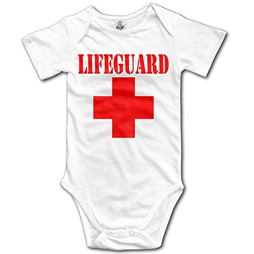 Lifeguard Gear Logo Infant Boys Girls Baby Onesie Bodysuit Organic