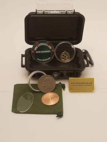 Gold Coin Tester Kit-Test:Krugerrands, Maple Leafs, Silver Dollars, etc. (Best Price Silver Maple Leaf Coins)