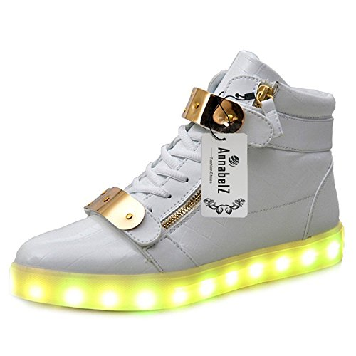 annabelz-led-shoes-high-top-men-women-light-up-shoes-usb-charging-metal-velcro-flashing-sneakers-whi