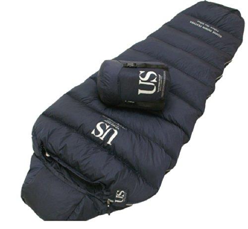Tiger Storm Us 83- 83.82 cm -15 °C , 0 °F  Outdoor extrem kalte Jahreszeit 3-Jahreszeiten-Schlafsack Camping Daunen Bettdecke, Kissen, Reißverschluss rechts, hochwertig