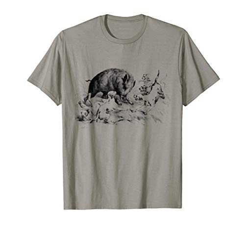 Wild Boar Hunter Pig Hog Hunting Shirt