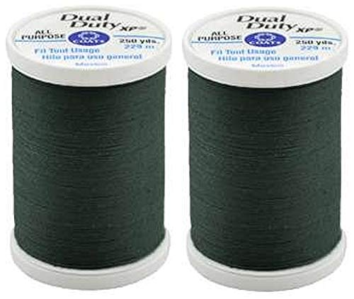 Dual Duty XP General Purpose Thread 250yds Forest Green (S910-6770) (Forest Green Thread)