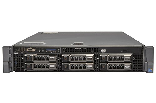 ": Dell PowerEdge R710 - 2x 2.80GHz Intel X5660 Processors - 128GB RAM (16x 8GB) - (6x 2TB 3.5"" 7.2K SATA Hard Drives) - 2x 870W PS"