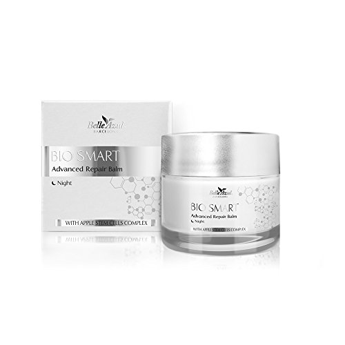 Belle Azul Bio Smart Advanced Repair Balm - Advanced Repairing, Anti Aging Moisturizing Night Cream with Apple Stem Cells Complex 50 - And Tom Bella