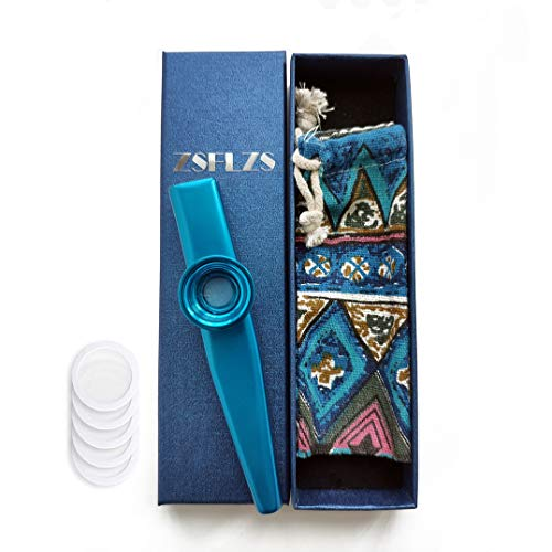 Metal Kazoo with A Beautiful Gift Box