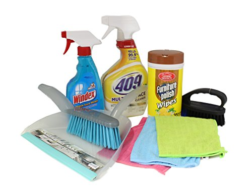 Dorm Room Multipurpose Cleaning Kit Value Pack with 409 All...