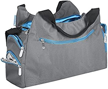 Blu Badabulle B043022 Borsa Fasciatoio Multipocket
