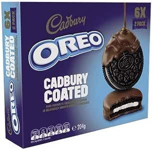 Cadbury Dairy Milk Chocolate Covered Oreo Cookies 204 g, 204 g