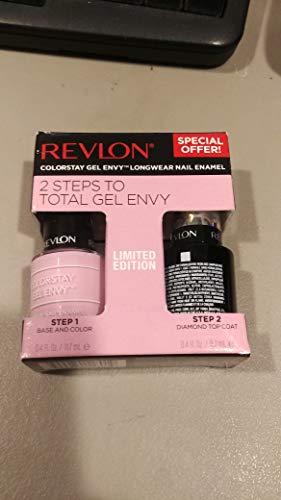 Revlon ColorStay Gel Envy Longwear Nail Enamel Kit,735 Lucky in Love0.08 oz.( pk 1) -